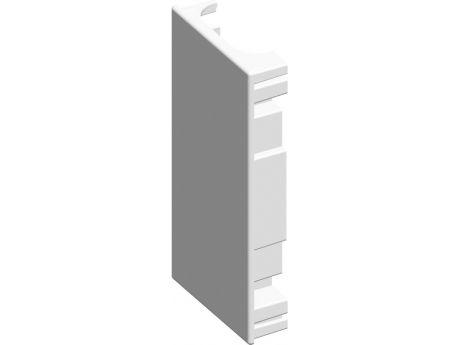 KONČNI ELEMENT PARAPET KANALA MA 130X65 BEL RT35PW-U  PAKIRANJE UNIPACK