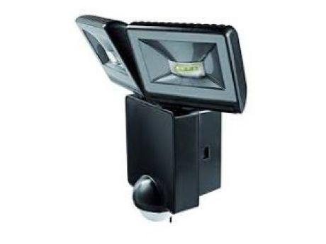 REFLEKTOR LED LUXA 102 2X8W 860lm ČRN IP44 S SENZORJEM
