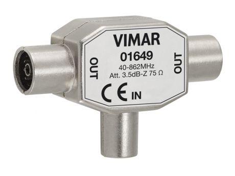 DELILNIK VIMAR TV D9.5 3.5DB  01649