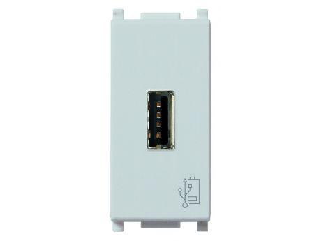 POLNILNIK PLANA USB 5V 1.5A 1M SILVER 14292.SL